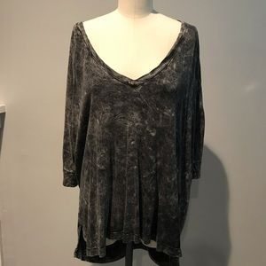 Gypsy05 distressed oversized t-shirt
